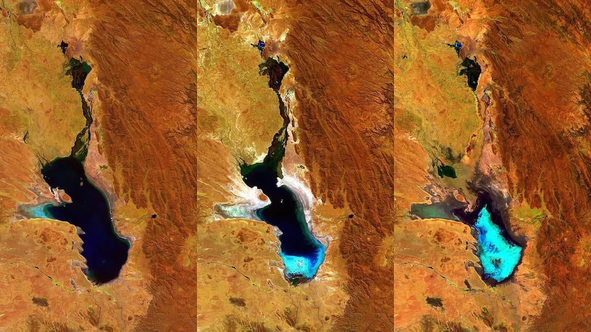 muerte del lago Poopó