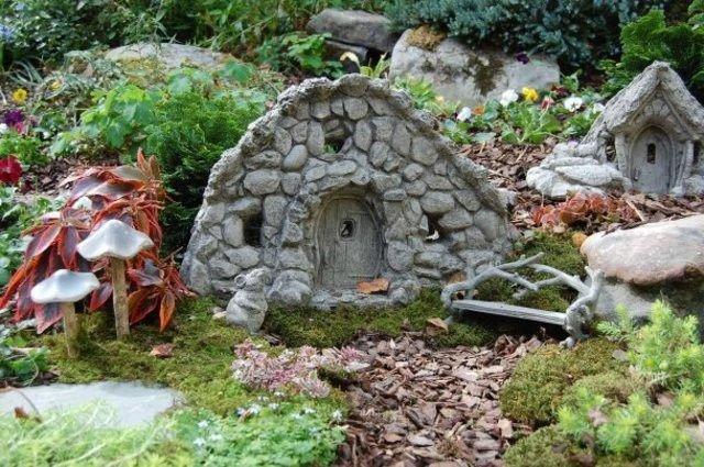 Increíbles casas de piedra en miniatura3