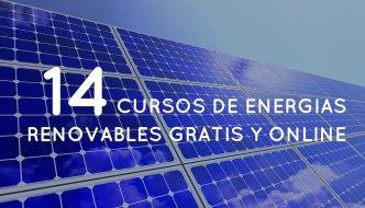 14 Cursos de energías renovables gratis y online