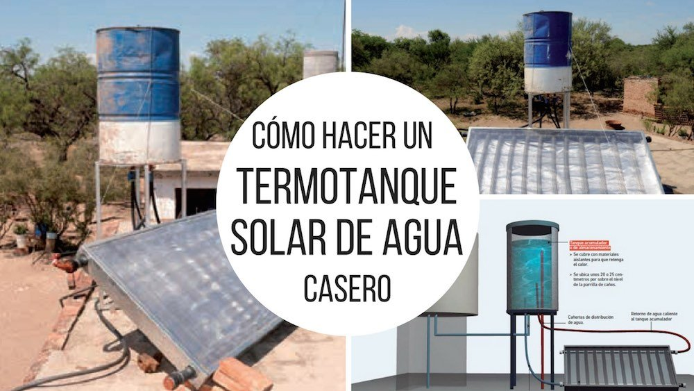 9 propuestas de calentadores solares caseros for Calentador solar piscina casero