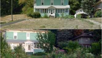 En tan solo 4 años transformaron su jardín en una autosuficiente huerta urbana