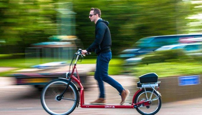 Lopifit: la bicicleta eléctrica para caminar