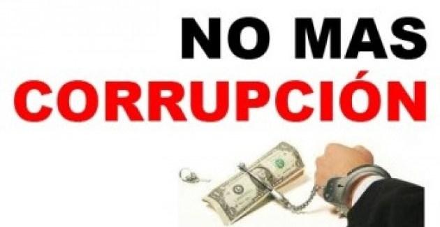 Nunca más a la corrupción estructural
