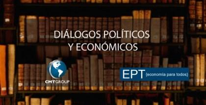 PLACA DIALOGOS POLITICOS Y ECONOMICOS