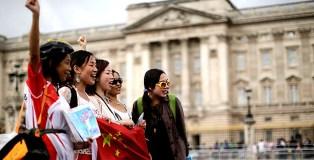 chinos turistas