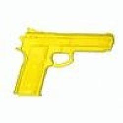 Yellow Hard Rubber Training Gun