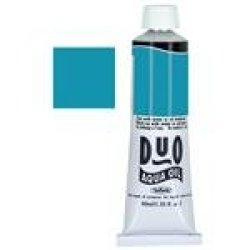 Holbein Water-Soluble Oil Color Turquoise Blue 40 Ml Tube