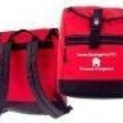 26-Piece Emergency 72-Hour Survival Grab-N-Go Backpack With First Aid Kit