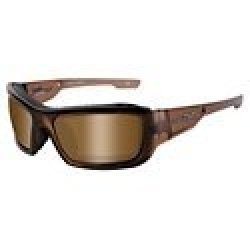 Wiley X Polarized Sunglass/Wx Knife Plr Bronze/Brown Crys