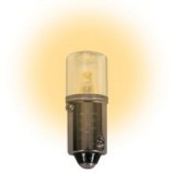 (Pack Of 2) 48 Volt.T3 ¼ Miniature Bayonet (Ba9S) Base Led Light Bulb 0.72 Watt Color Warm White
