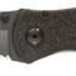 "Kershaw Black Blur 1670Blkst Cutting Knife - Folding Knife - 3.39"" Blade - Serrated Edge"