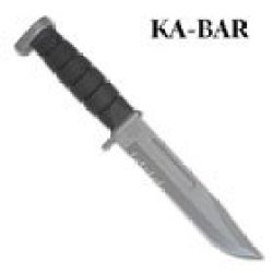Ka-Bar #1221 Next Generation Ss Combo Blade Knife