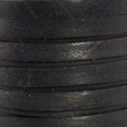 """Black Deertan Lace 1/8"""" (3Mm) X 50 Ft Spool"""