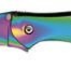 "Kershaw Rainbow Leek 1660Vib Cutting Knife - Folding Knife - 3"" Blade - Tanto/Chisel Point Design"