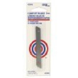Hyde Tools 42345 Retractable Snap-Off Knife Replacement Blade, 9Mm, 5-Pack