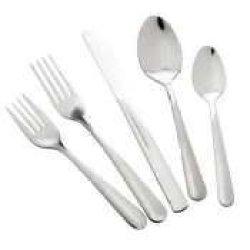 Winco 0002-05 12-Piece Windsor Dinner Fork Set, 18-0 Stainless Steel