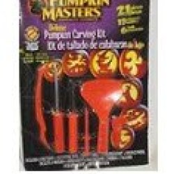 Pumpkin Masters® Deluxe Pumpkin Carving Kit: 21 Pieces; 15 Patterns; Safer Than Kitchen Knives