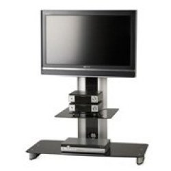 Flat Panel Tv Mounting Stand For Panels Up To 42-Inches Or 125 Lbs-By Elite