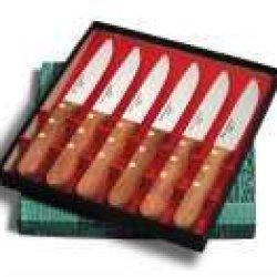 Dexter-Russell Set Of 6 Russell International Steak Knives.