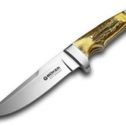 Boker Tree Brand Genuine Deer Stag Vollintegral Knife Knives