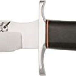 Blackjack Model 5 Black Fixed Blade Knife, 5.625In, A-2 Tool Steel, Black Micarta Handle Bcb5Bm