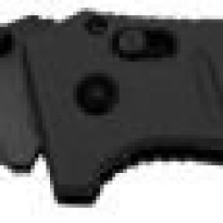 Benchmade Adamas Manual Folding Knife, Balck Combo Edge Blade, Black G10 Handle 275Sbk