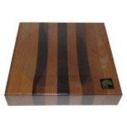 "New Alaska Ulu Chopping Bowl Board (Medium 7.3"" - Use For 6"" Ulu Blade)"