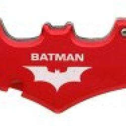 Batman Double Blade Batman Bat Folding Pocket Knife - Red