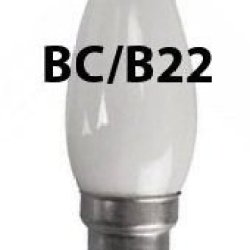 Eveready 2X Opal Candle Bulb 40W Bc (B22) Bayonet Cap - Pack Of 2 - [Eu Specification: 220-240V]
