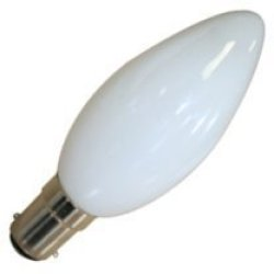 Eveready 10 X 40W Candle Sbc (Small Bayonet Cap) Opal/Pearl Lamp - [Eu Specification: 220-240V]