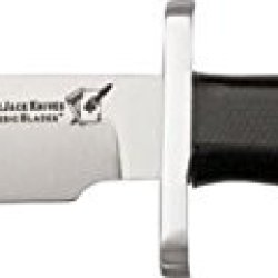 Blackjack Classic Blades Halo Fixed Blade Knife, 3.625In, A-2 Tool Steel Clip Point, Black Bcb12Bm