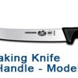 "10"" Breaking Knife - Black Fibrox Handle #40538"