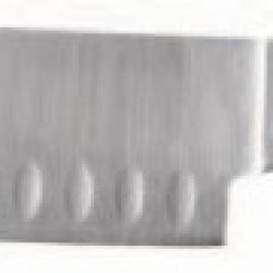 Ginsu 07141 Chikara Signature Series Santoku Knife, 7-Inch