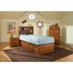 Image of City Park Kids Captain's Bedroom Set by Standard Furniture (4850-CAPB-SET)