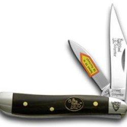 Steel Warrior Buffalo Horn Peanut Pocket Knife Knives