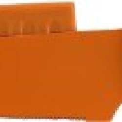 Hampton Forge Splash Utility Knife With Blade Guard, 5-Inch, Orange, Hmc01A600S