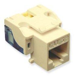 Ic107E5Civ - 25Pk Cat5 Jack - Ivory Ic107E5Civ - 25Pk Cat5 Jack - Ivory