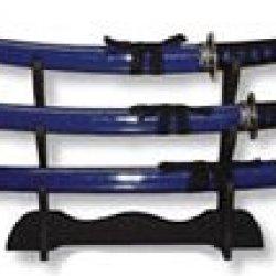 Bladesusa Sw-68Bl4 3-Piece Katana Samurai Sword Set 39.5-Inch Overall