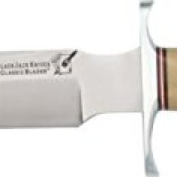 Blackjack Classic Model 7 Fixed Blade Knife, 7In, A-2 Tool Steel, Antique Ivory Micarta Bcb7Am