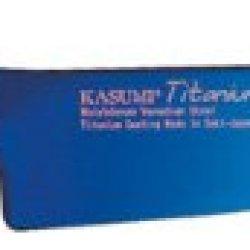 "Kasumi Titanium 7.75"" Chef'S Knife Color: Blue"