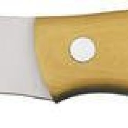Bark River Knives 133Mai Mini Canadian Fixed Blade Knife With Antique Ivory Micarta Handles