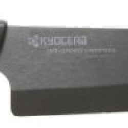 Kyocera Revolution Series 7-Inch Professional Chef'S Knife, Black Blade