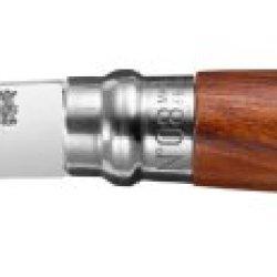 Luxury Opinel Knife, Size 8, Bubinga Wood, Stainless