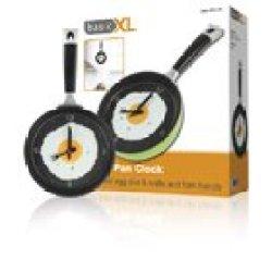 Basicxl Frying Pan Clock Green [Bxl-Fpc10G]
