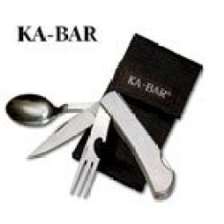 Ka-Bar Hobo-Ss Fork,Knife,Spoon - 2-1300-7