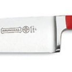 "Mundial 5100 Series 7"" Santoku Knife, Red"