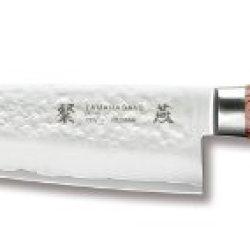 Tamahagane San Tsubame Wood Snh-1114 - 7 Inch, 175 Mm Santoku Knife