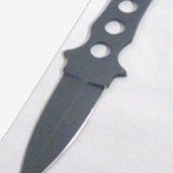"7"" Throwing Sharp Knife With Sheath"