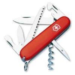 Swiss Army Camper Knife 3-1/2 In.