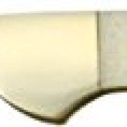 Frost Masonic Midlock Folding Knife,Stainless Clip Blade, Blue/White Smooth Bone Handle Mas165